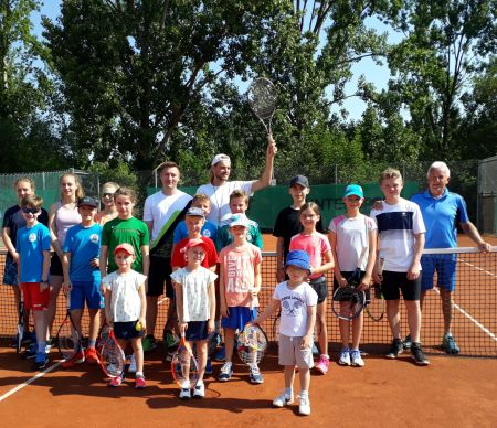 Tenniscamp Pfingsten 2019